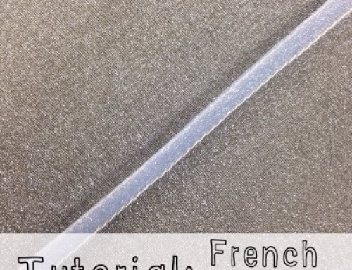 Tutorial: French Seam