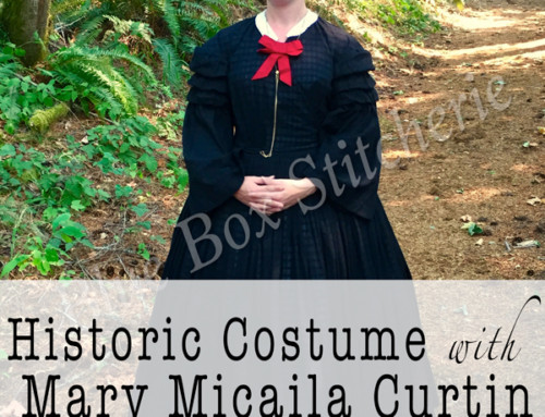Historic Costume with Mary Micaila Curtin